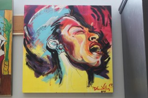 Songbird with a Passion  Painting by Demond Williams