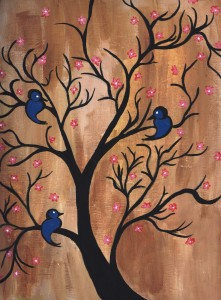 """Birds in a Tree"" by Devona Todd"