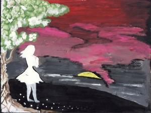 """""""A Walk"""" by Gennie Darisme"""