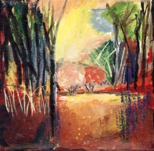 """Sunny Landscape""  By Jo Ann Abdelwahabe"