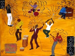 """Bald-Headed Band""   By Elaine Jones"