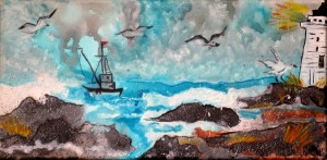 """Seaside High""  By Sharon Jackson"