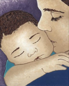 Mother And Child by Samantha Rivera