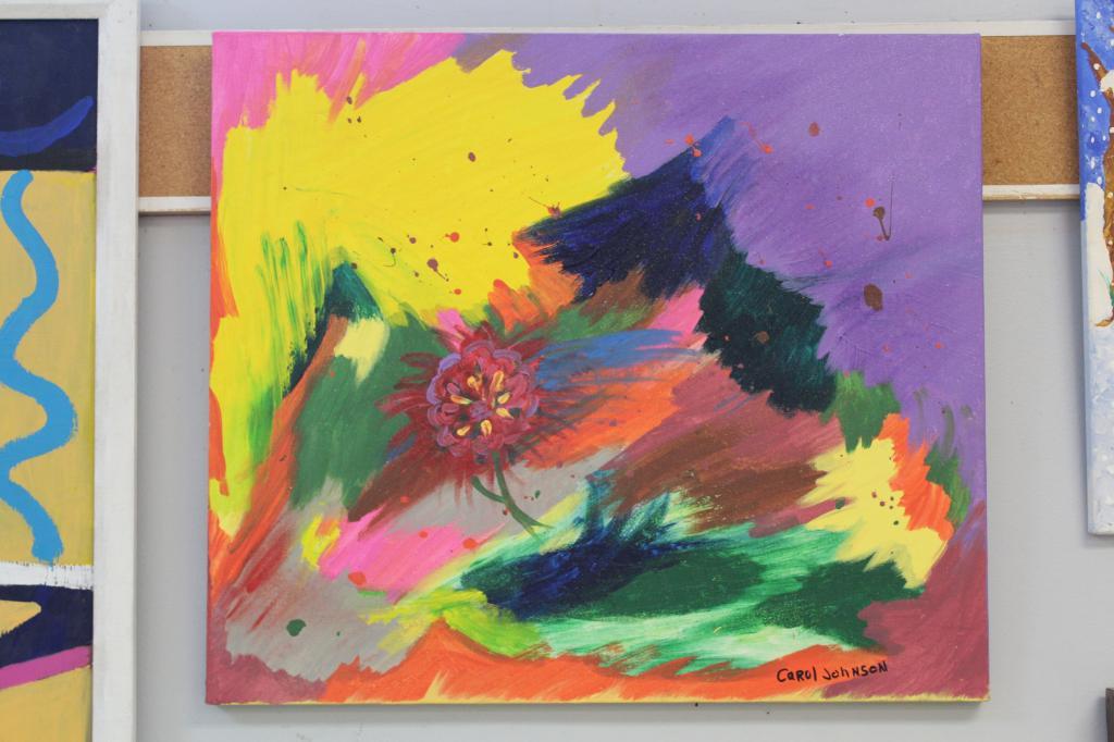 Hidden flower by Carol Johnson
